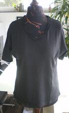 C&A T-Shirt Shirt Top in Schwarz und Größe L