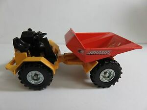 4x4 Johnson 2 Ton Dumper 1:43 Die Cast DINKY Toys Made in England CA03