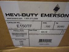 Emerson HEVI-DUTY E150TF TRANSFORMER