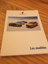 Porsche tous les modelos catálogo folleto prospekt folleto en francés 07/07