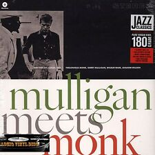 ♫ 33 T THELONIOUS MONK AND GERRY MULLIGAN - MULLIGAN MEETS MONKS -  180 G ♫