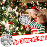 2020 A Year to Remember Christmas Pandemic Ornament 2021 Xmas Ornament NEWS