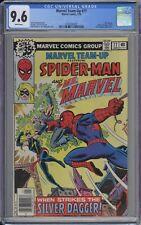 Marvel Team-Up #77 CGC 9.6 NM+ Wp 1979 Spider-Man & Ms. Marvel Vs. Silver Dagger
