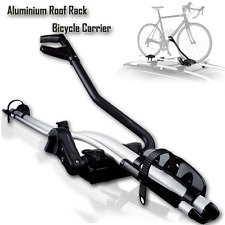 Aluminium Alloy Roof Rack Mounted Frame Holding Lockable Bike Bicycle Carrier Fr