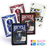 BICYCLE PRO POKER PEEK INDEX PLAYING CARDS DECK MAGIC TRICKS RED BLUE MADE USA