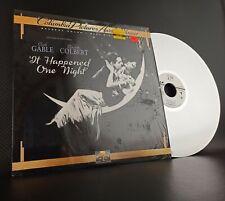 It Happened One Night Laservision LaserDisk Clark Gable Claudette Colbert