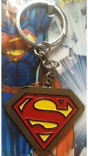METAL SUPER MAN LOGO KEYING KEY CHAIN HANDBAG BAG CHARM SUPERMAN FREE DELIVERY