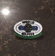 World Police & Fire Games Stockholm, Sweden 1999 Collectible Pin - New