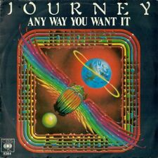 "Journey(7"" Vinyl)Any Way You Want It-CBS-CBS 8364-Holland-1979--VG/Ex"
