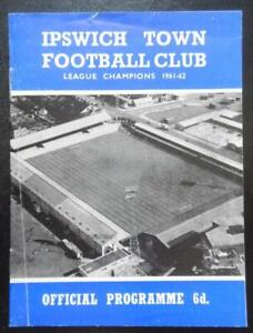 IPSWICH TOWN v DARLINGTON - 1965/66 - League Cup 4th Round