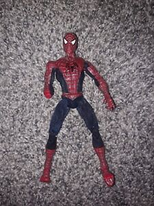 Spiderman Movie Marvel 2003 Articulated Very Posable Tobey Action Figure Jointed