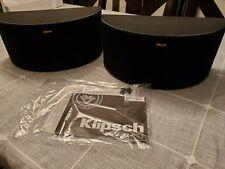 Klipsch R-14S Surround Speaker Pair Black - Original Box - Excellent Condition!