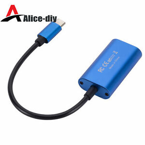 HDMI to USB 3.0 Type-C Capture Card Recorder Game/Video Live Streaming B2AD