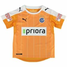 Maillot de football de club étranger orange Manches courtes