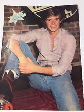 VTG 80s' 70's PINUP Leif Garrett + Chris Atkins Super Teen Magazine 1 PAGE