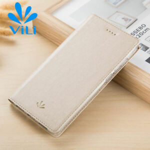 Luxury Flip Leather Card Slot Wallet Magnetic Slim Stand Cover Case For Nokia