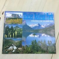 GLACIER NATIONAL PARK - Collection of 8 8x10 Color Print Photos, Mountains, Lake