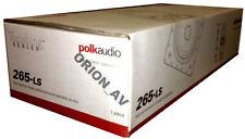 Polk Audio 265-LS 3-Way Rectangular In Wall Speaker White (EACH) 265LS Brand New