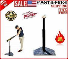 T Ball Baseball Tee Batting Youth Trainer Bat Set Hitting Kid Adjustable Swing