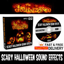 Halloween Horror Sound Effects 2017 Music DVD MP3 & Audio Play Editing Software