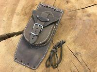 Tankchap Harley Davidson Softail Heritage Fat Boy Tasche Tankpanel braun