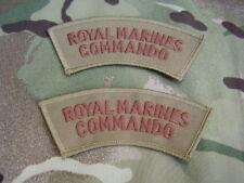 Royal Marines Commando/SBS - Military Combat Jacket/Shirt Titles Patch/Badges D