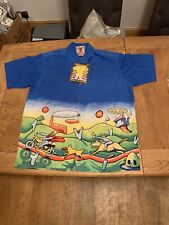 Mambo Loud Shirt ..VINTAGE ..Jesus On A Motorbike Large..