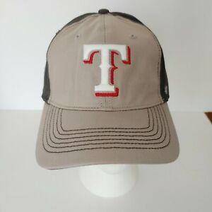 47 Brand Texas Rangers MLB One Size Baseball Hat Cap Grey Brown Khaki NEW