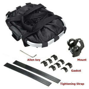 Folding Portable Bike Front Basket for Small Cat Dog Carrier Bicycle Handlebar