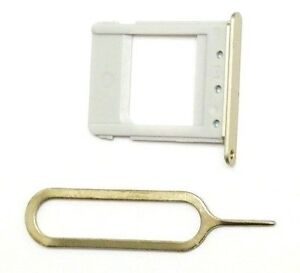 """OEM SIM Card Tray+Pin For Samsung Galaxy Note 5 for All US Carriers """"GOLD"""" ~ US"""