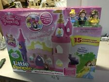 Fisher-Price Little People Disney Princess Musical Dancing Palace New=