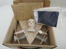 Vintage Bisque Porcelain Doll Kit Craft Parts Making Pattern Cloth Stephan