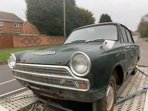 1966 Mk1 Ford Cortina unfinished project