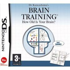 Dr Kawashima's Brain Training How Old Is Your Brain? DS nintendo jeux games 1834