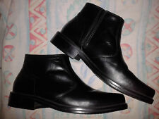 MEN'S BLACK ANKLE BOOTS