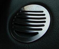 Mercedes SLK 170 R170 2 Alu Zier-Blenden Defrosterdüse Aluminium m. Gravur AMG