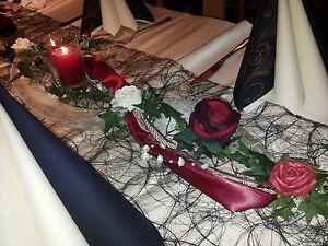 Tischdekoration Hochzeit,Deko Kommunion,Tischgesteck ca. 1,20m