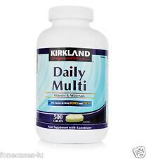 Kirkland signature quotidienne multi vitamines et minéraux 500 Comprimés