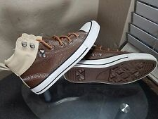 RARE🔥 Converse All Star Chuck Taylor High Womens Size 8 Brown/Wheat Leather