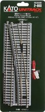 Kato ~ New 2020 ~ HO Scale #6 Powered Left Turnout UniTrack Switch ~ 2-860