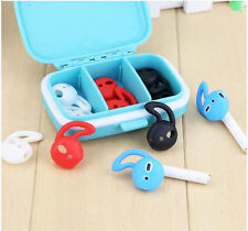 2 Pair Sport Silicone Cover Anti Sweat Slip for iPhone Wireless earphone Airpods