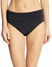 Magic suit NEW Black Women's Size 8 Jersey Shirred Swim Bikini Bottom