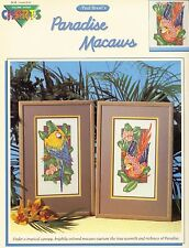 Paradise Macaws Cross Stitch Leaflet - Color Charts - Brent - Vol 10205