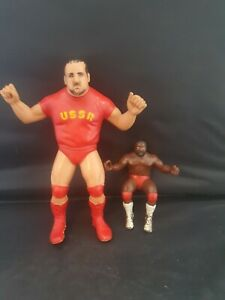 Wwf Ljn Large Nikolai Volkoff Wrestling Action Figure Rare Retro Toy