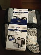 """American Tourister Royalty Pack Cube Assortment, 3 Count Lot Of 2 """" NEW """""""