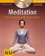 GU Ratgeber: MEDITATION mehr Klarheit und innere Ruhe  + CD ►►►UNGELESEN