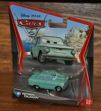 Disney Pixar Cars 2 Die Cast #18 Petrov Trunkov 1:55 scale NEW