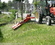 "Flail Ditch Bank Mower:Maschio Giraffa 210SI 84""Cut,70-120HP: Adjust On The Fly!"