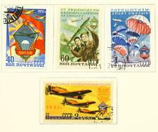Russia Famous Soviet Aircrafts Airforce Paratroopers set 1951