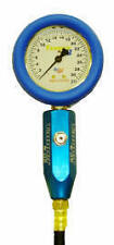 "Tanner Racing 60 PSI Liquid Filled 2-1/2"" Tire Gauge"